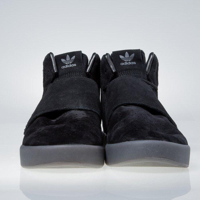 Sneakers buty Adidas Originals Tubular Invader Strap core black core black BB8392