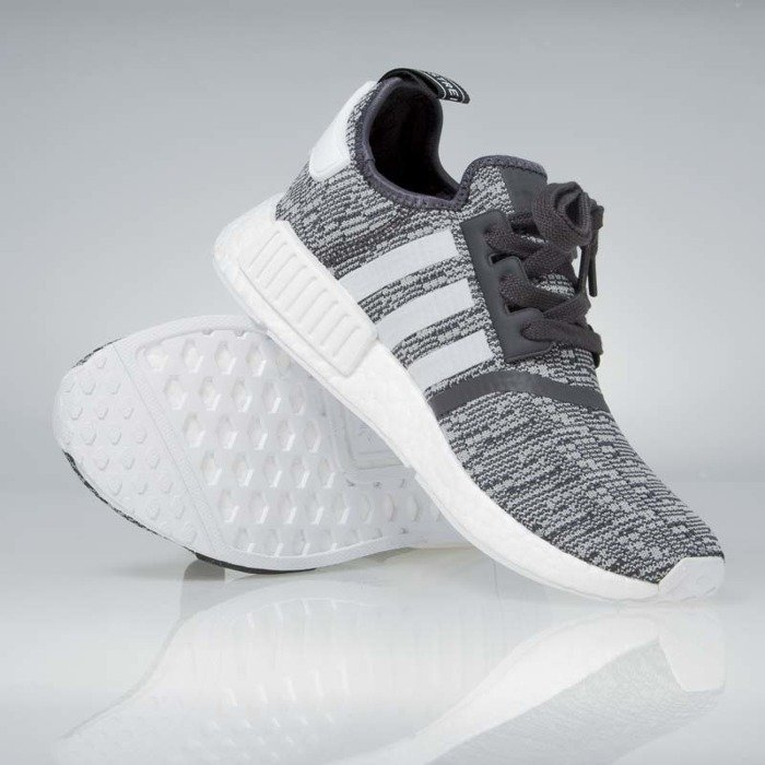 sneakers buty adidas originals wmns nmd_r1 black