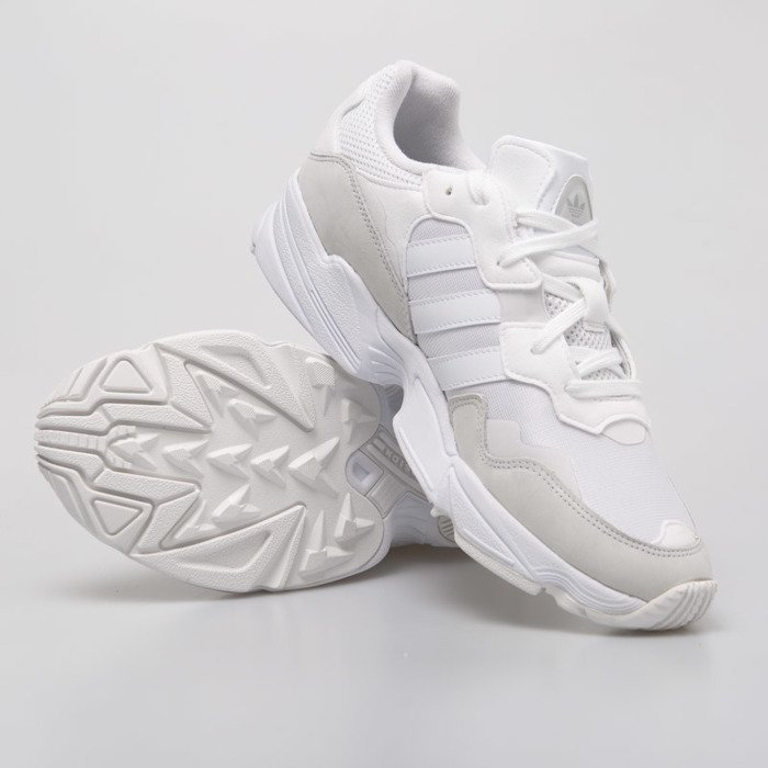 Sneakers buty Adidas Originals Yung 96 ftwr white grey two (EE3682)