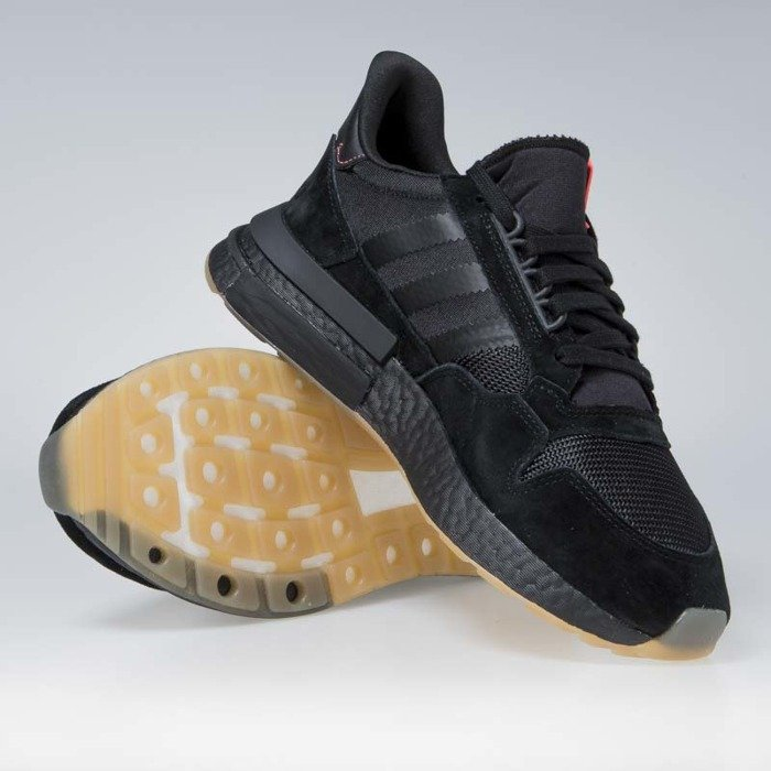 reputable site fc59d 04780 ... Sneakers buty Adidas Originals ZX 500 RM core blackbluebird (BB7443)  ...