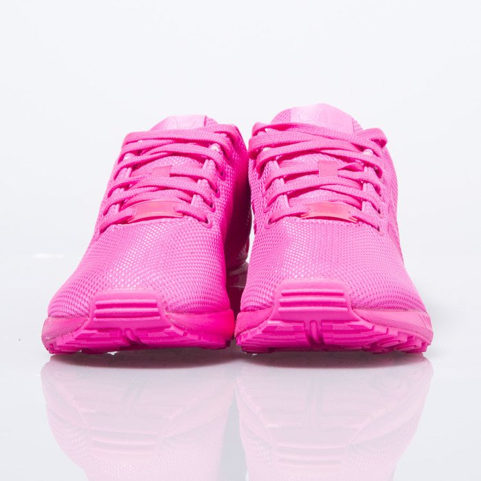 buty adidas originals zx flux k s75490 różowe