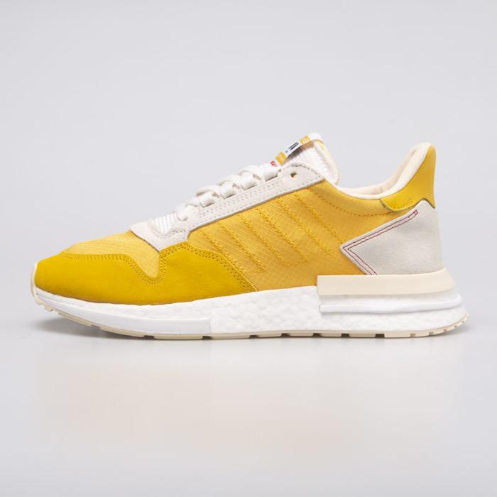 Sneakers buty Adidas ZX 500 RM bold gold ecru tint (CG6860)