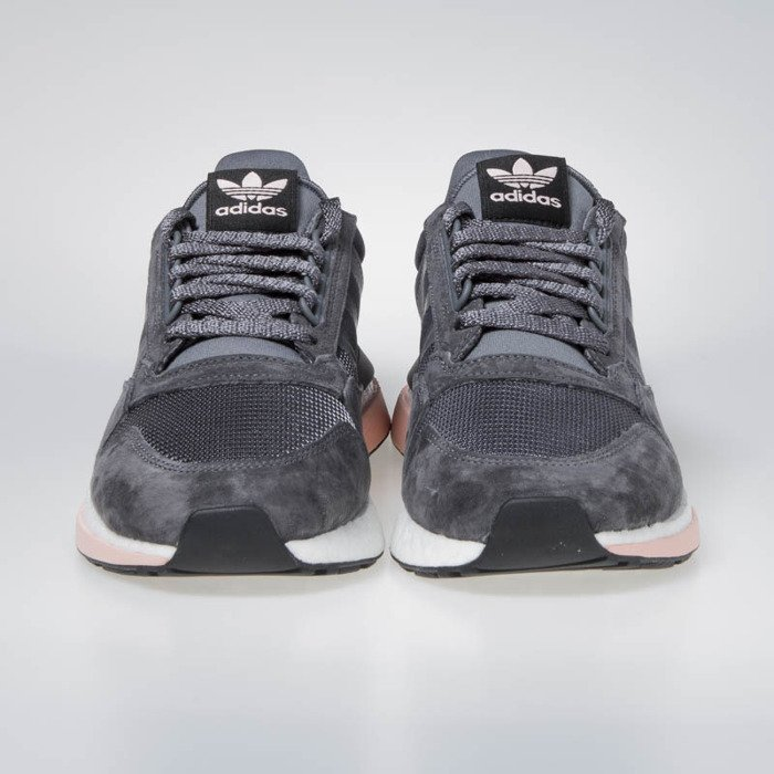 05c53bc48 ... Sneakers buty Adidas ZX 500 RM grey five  ftwr white clear orange ( B42217 ...