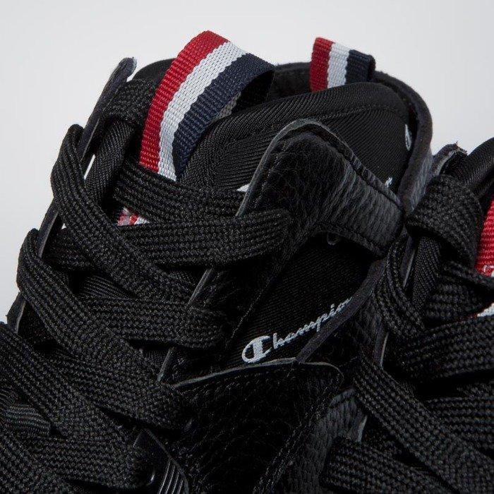 eddc610e0ea ... Sneakers buty Champion Zone 93 High Leather black S20533-FW17-KK001 ...