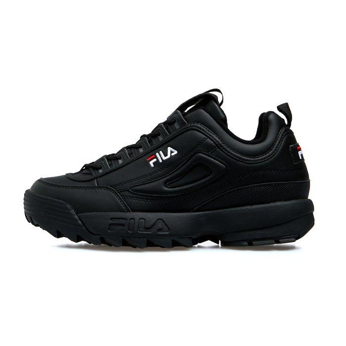 Sneakers buty FILA Disruptor Low blackblack (1010262.12V)