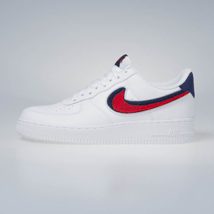 nike air force red blue