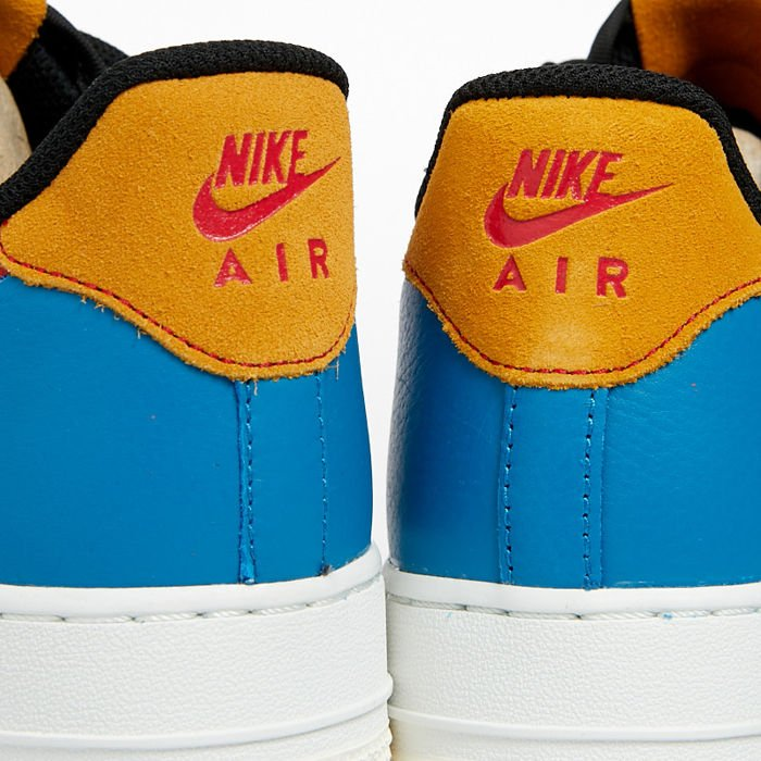 Sneakers buty Nike Air Force 1 '07 PRM 1 sailblack imperial blue (CI0065 101)