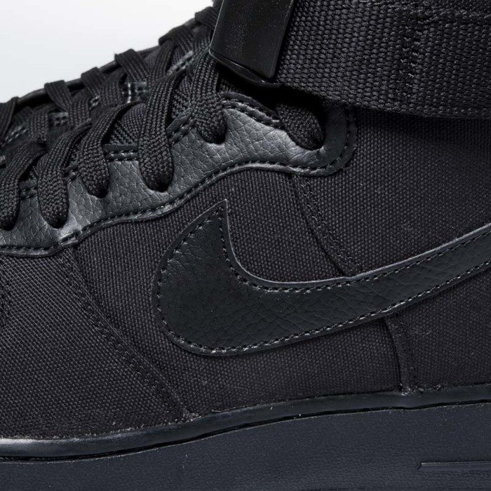 online store 04ce8 c8192 ... Sneakers buty Nike Air Force 1 High 07 Canvas black  black -  anthracite AH6768 ...