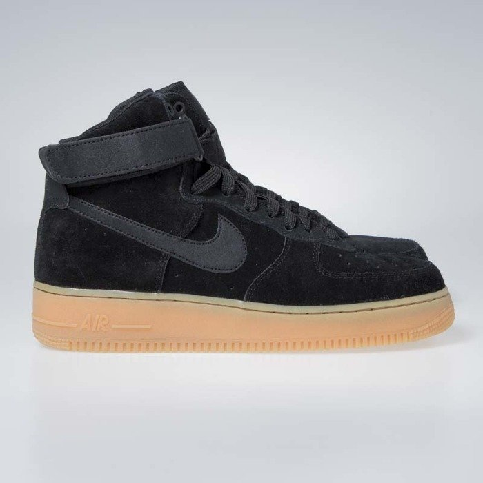 Buty NIKE Air Force 1 '07 Lv8 Suede AA1117 001 BlackBlackGum Med Brown