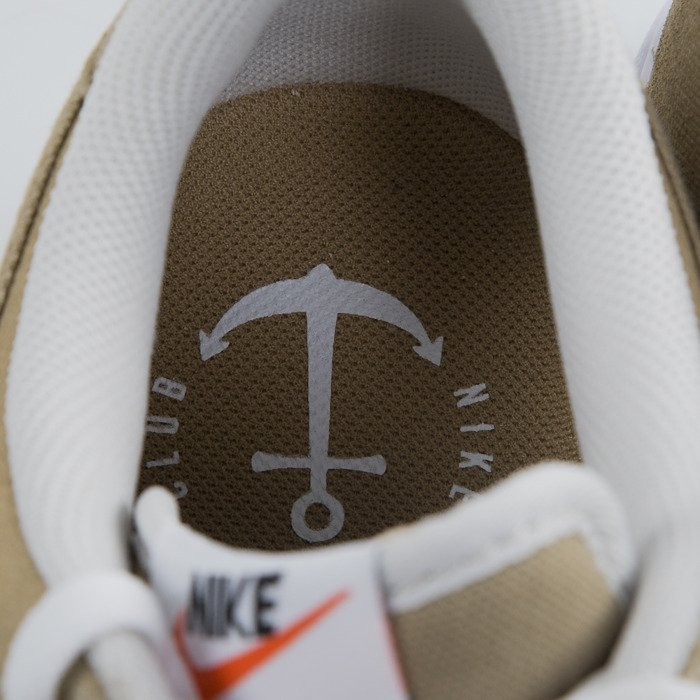 Sneakers buty Nike Air Force 1 Low hay hay white light bone 488298 208