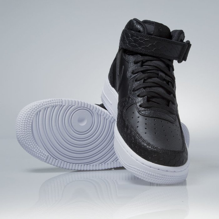buty nike air force 1 mid '07 lv8 black