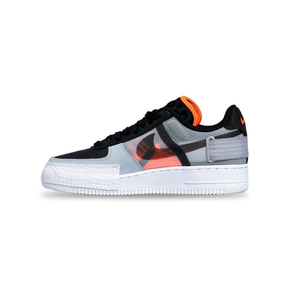 Sneakers buty Nike Air Force 1 Type czarne (CQ2344 001)