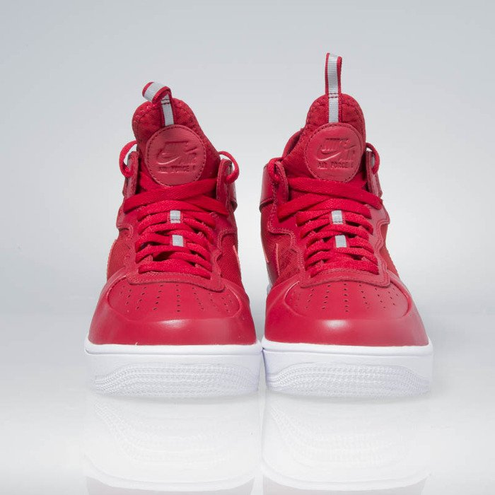 Sneakers buty Nike Air Force 1 Ultraforce Mid gym red gym