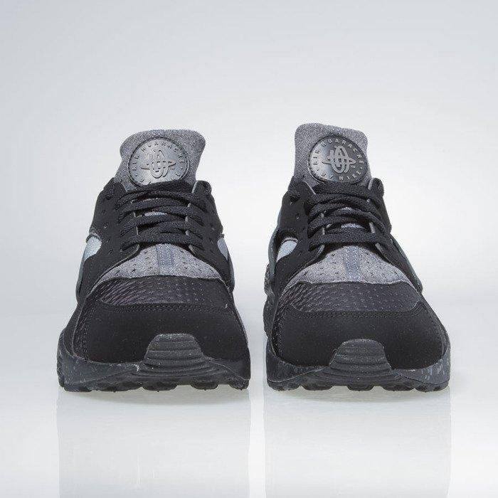 super popular cbf47 57b3d ... Sneakers buty Nike Air Huarache Run Se black   wolf grey-wolf grey  852628- ...