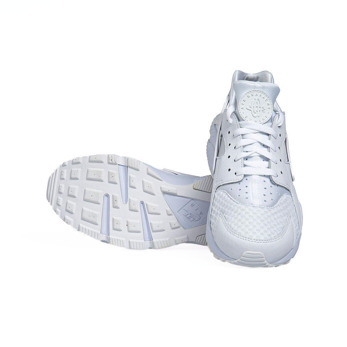 Sneakers buty Nike Air Huarache white pure platinum (318429 111)