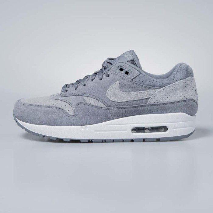 Sneakers buty Nike Air Max 1 Premium cool grey wolf grey white 875844 005
