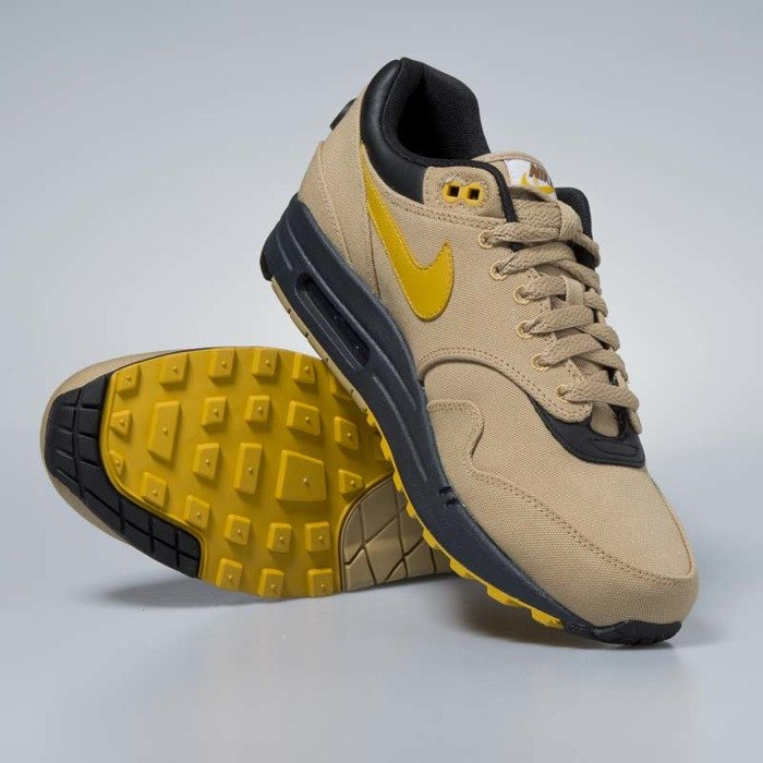 half off eccfc c6ad2 ... Sneakers buty Nike Air Max 1 Premium elemental gold   mineral yellow  875844-700 ...
