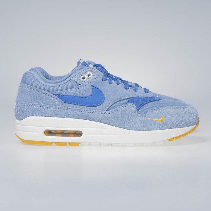 Sneakers buty Nike Air Max 1 Premium work bluemountain blue 875844 404