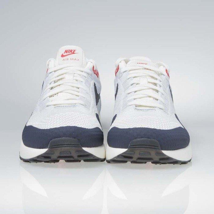 ... Sneakers buty Nike Air Max 1 Ultra 2.0 Flyknit sail   obsidian-wolf  grey 875942 ... 420a4fafc