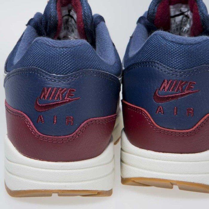 Nike air max 1 Navy Sail Team Red Sail Uk
