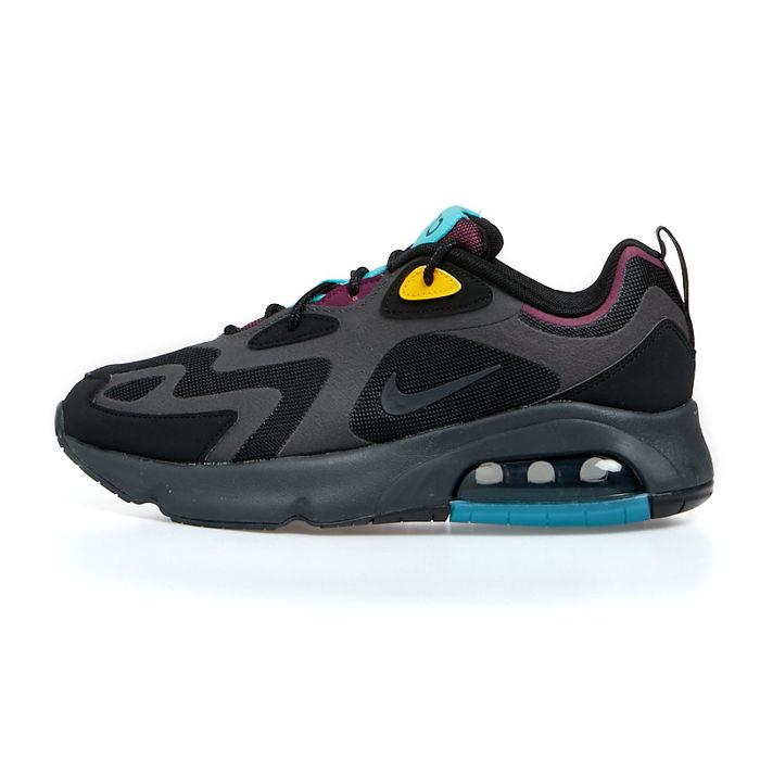 Sneakers buty Nike Air Max 200 blackathracite bordeaux (AQ2568 001)