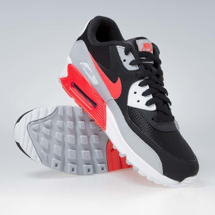 437706b76b ... Nike Air Max 90 Essential wolf grey/bright crimson-black (AJ1285. Free  -30%