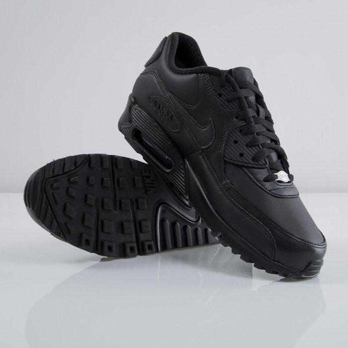 timeless design 4fb0e ffe5e ... Sneakers buty Nike Air Max 90 Leather black / black (302519-001). Free