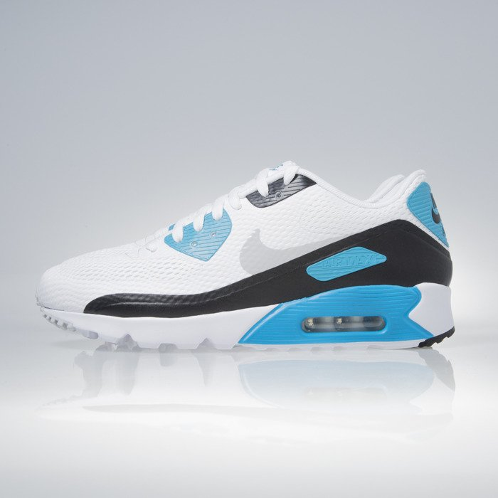 Sneakers buty Nike Air Max 90 Ultra Essential white neutral grey lsr (819474 101)