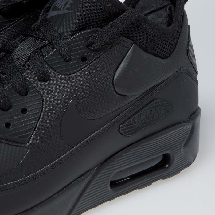 7bd92459a8 ... Sneakers buty Nike Air Max 90 Ultra Mid Winter black/black-anthracite  (924458 ...