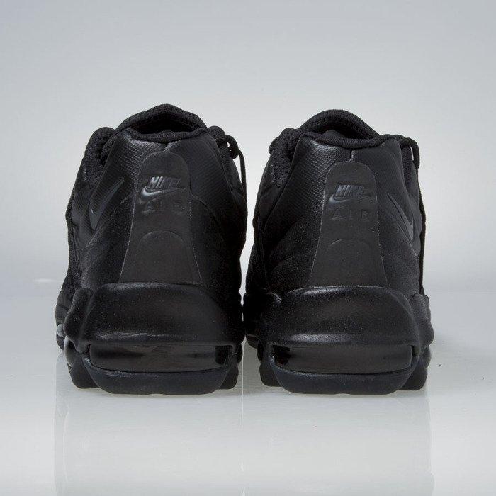 Sneakers buty Nike Air Max 95 Ultra Se Premium black mtlc hematite black 858965 001