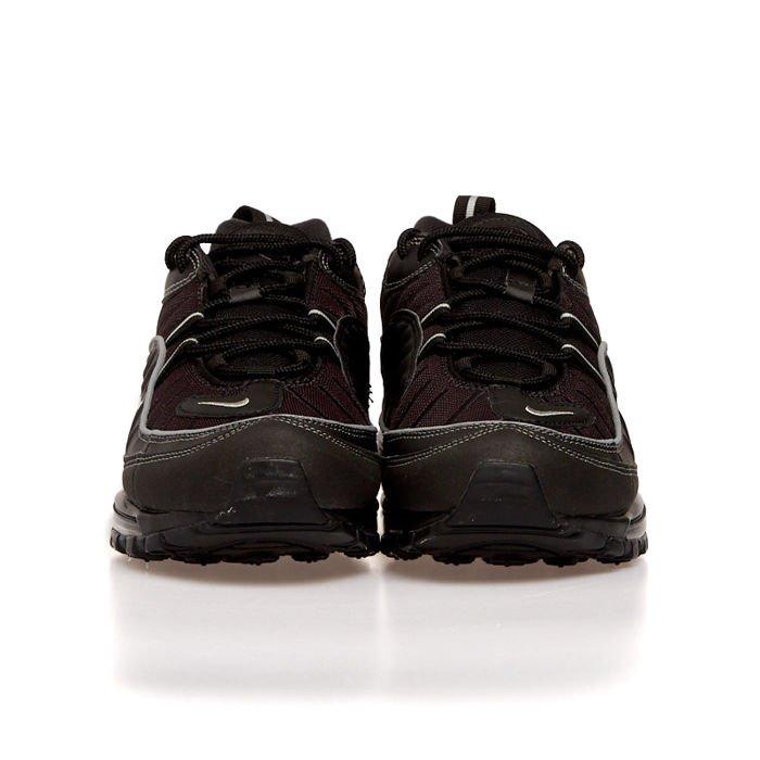 Sneakers buty Nike Air Max 98 blackmetallic silver oil grey (640744 013)