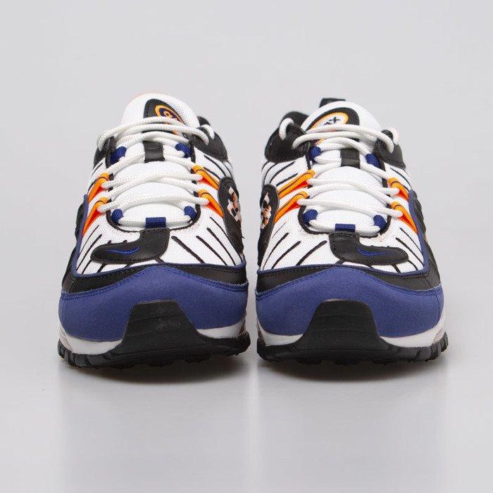 Unboxing Sneakers Nike Air Max 98 White Deep Royal Blue CD1536 100 | Freesneak Shop