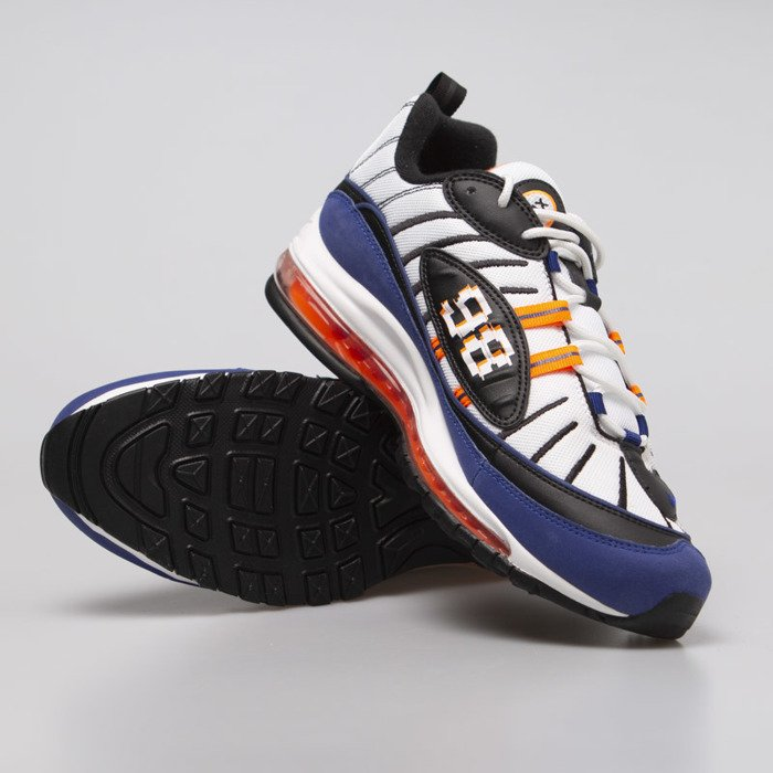 Sneakers buty Nike Air Max 1 Premium blackblack total orange white (875844 008)