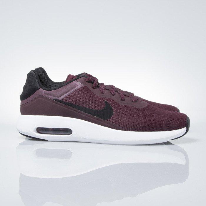 Sneakers buty Nike Air Max Modern Essential night maroon black gym red (844874 600)