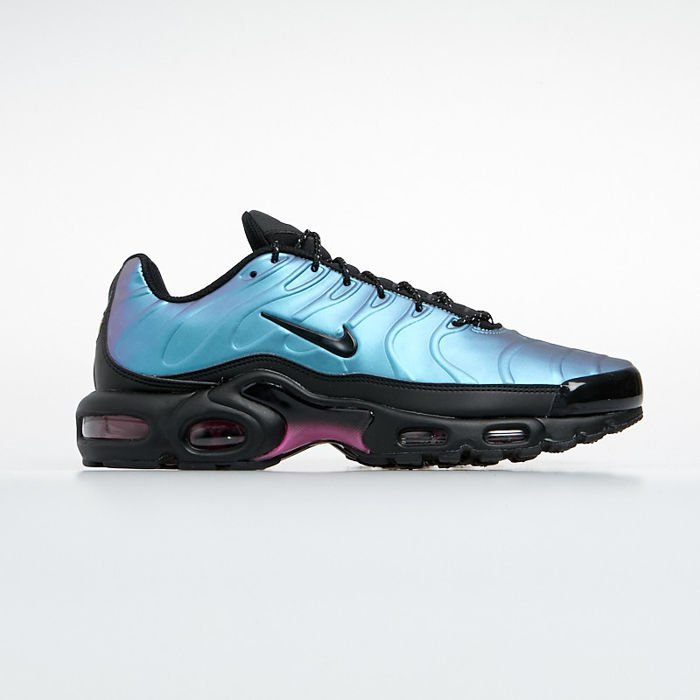 Sneakers buty Nike Air Max Plus SE blackblack laser fuchsia