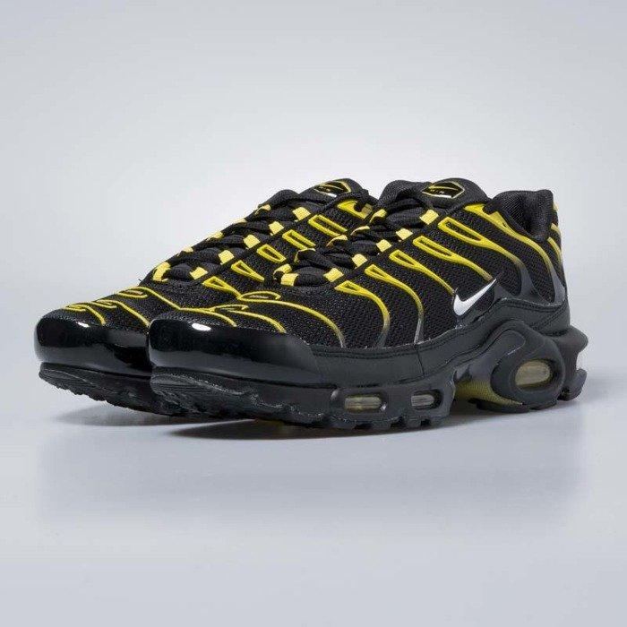 sports shoes b6e00 f0b14 ... Sneakers buty Nike Air Max Plus black  white - vivid sulfur 852630-020  ...