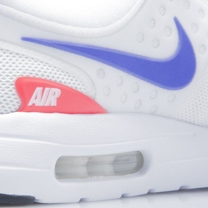 Nike Air Max Zero QS White Ultramarine Solar Red | Footshop