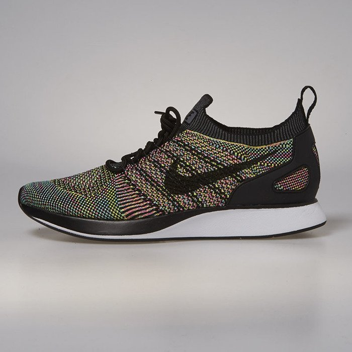 save off 1e0e8 40135 ... Sneakers buty Nike Air Zoom Mariah Flyknit Racer white  black - volt -  chlorine blue ...