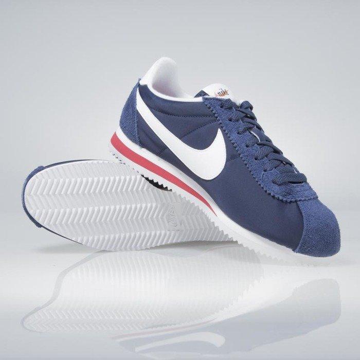 promo code cc778 8a59c ... sale sneakers buty nike classic cortez nylon premium midnight navy  white 876873 400 e8533 98386