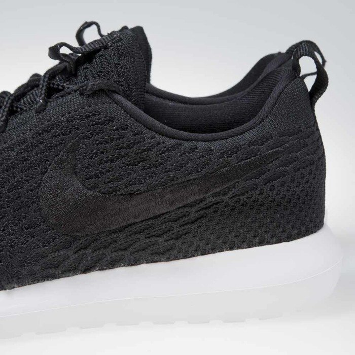 new concept afcb2 04921 ... Sneakers buty Nike Roshe Nm Flyknit black / black-white (677243-011) ...