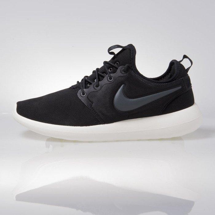 nowy przyjazd gorące wyprzedaże rozmiar 7 Sneakers buty Nike Roshe Two black (844656-003)