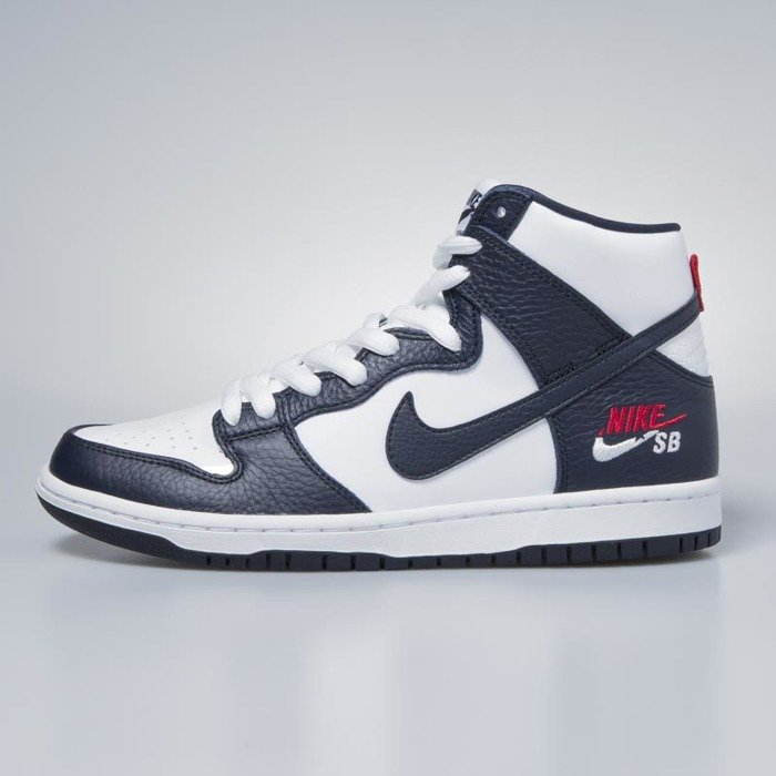 great fit 89ad7 8b454 ... Sneakers buty Nike SB Dunk High Pro obsidian  obsidian-white  854851-441 ...