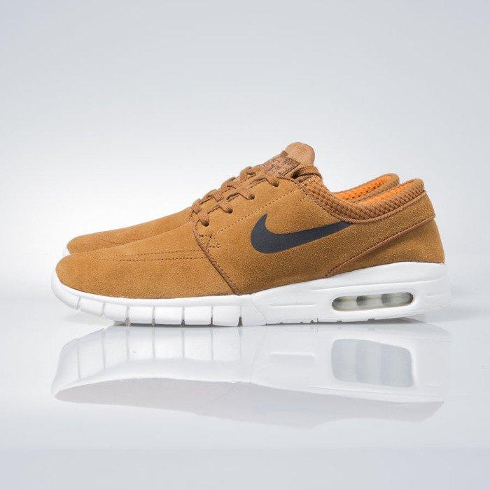 purchase cheap ebad5 859f5 ... Sneakers buty Nike SB Stefan Janoski Max Leather hazelnut   black-ivory  685299-201 ...