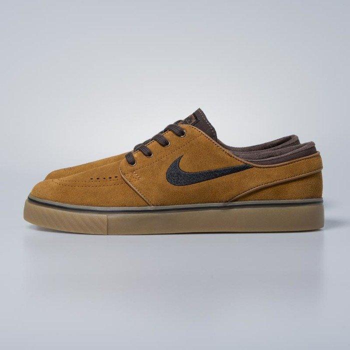 Sneakers buty Nike SB Zoom Stefan Janoski hazelnut black baroque brown 333824 214