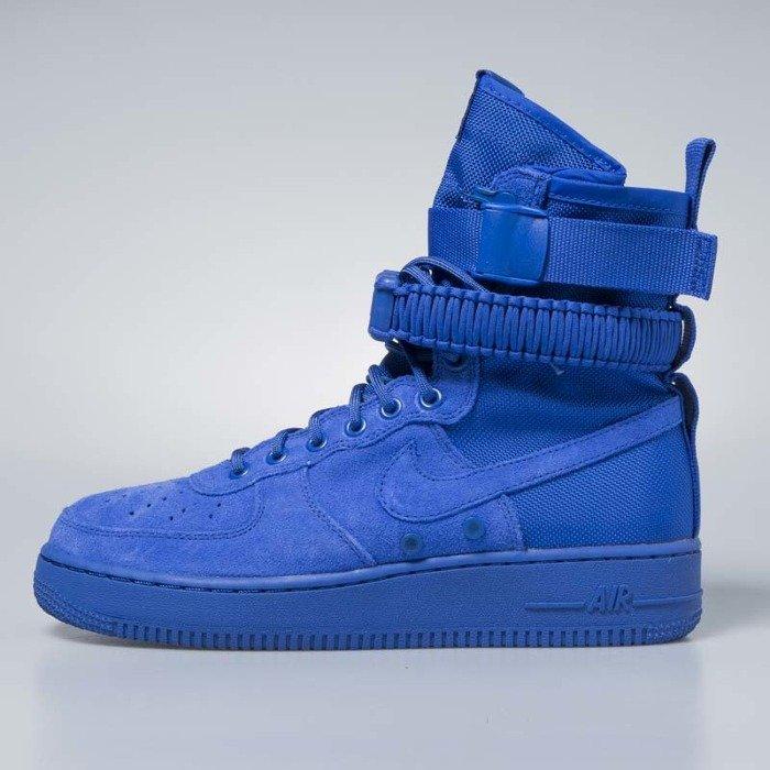 wiele stylów najlepiej autentyczne różne kolory Sneakers buty Nike SF Air Force 1 game royal / game royal 864024-401