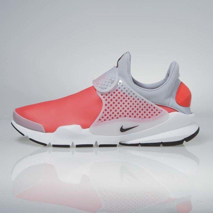 the best attitude c1afb 166ca ... Sneakers buty Nike Sock Dart SE max orange  black - wolf grey  911404-800 ...