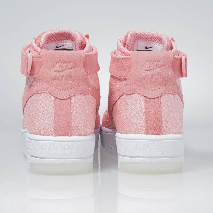 Sneakers buty Nike WMNS Air Force 1 Flyknit bright melon bright melon 818018 802