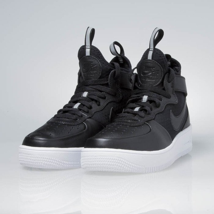 Sneakers buty Nike WMNS Air Force 1 Ultraforce Mid black black white 864025 001