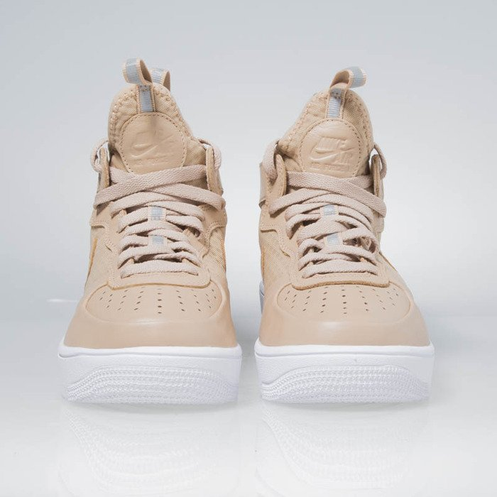 buty nike wmns air force 1 ultraforce mid vachetta tan