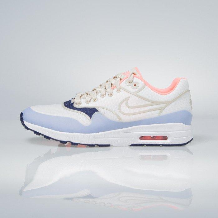 Sneakers buty Nike WMNS Air Max 1 Ultra 2.0 SI sail white lava glow oatmeal 881103 102